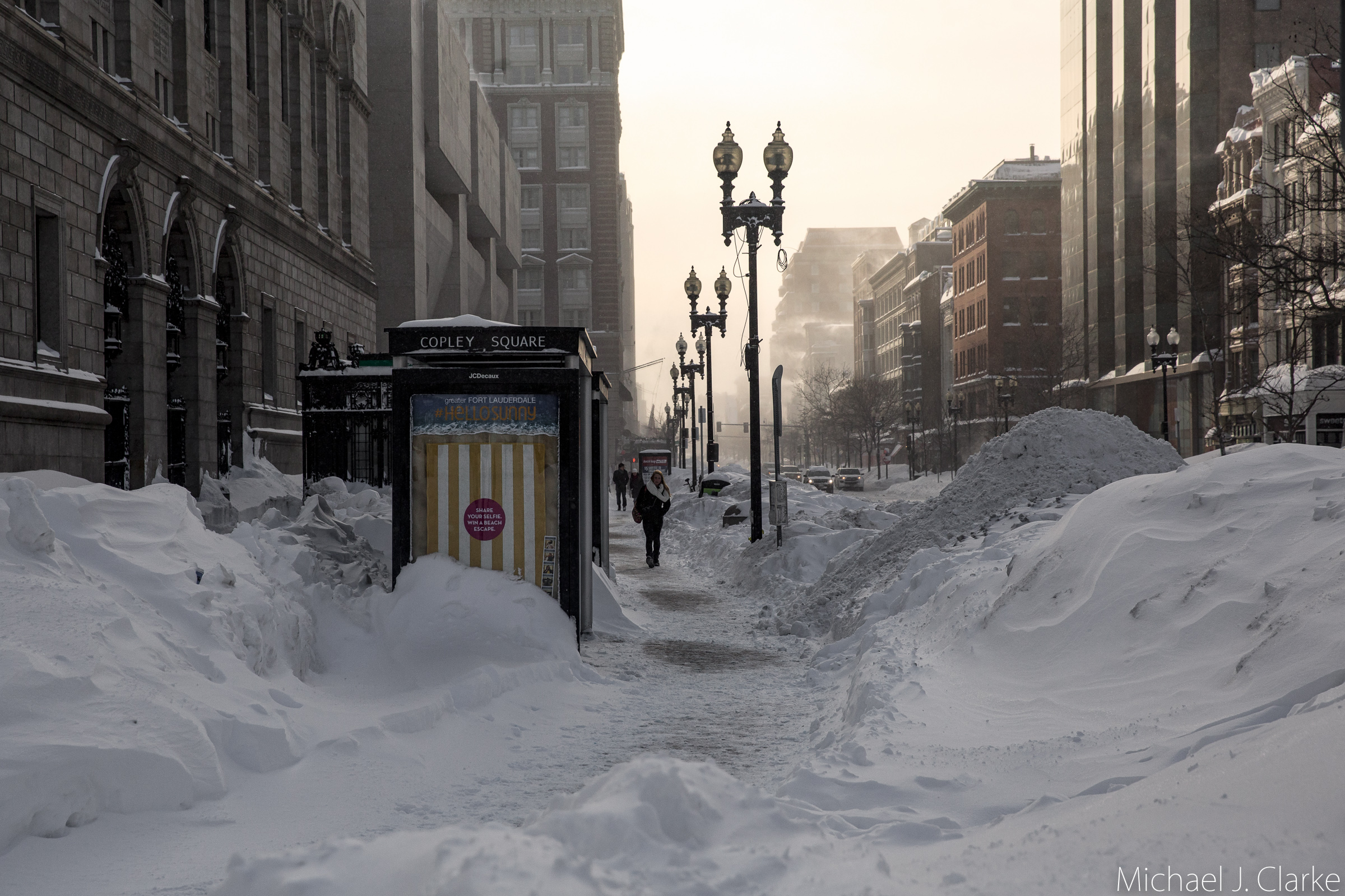 winter in boston